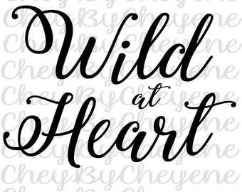 Wild at Heart SVG file
