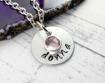 Custom Name Necklace Mothers Day Gift~ Personalized Jewelry~ Bridesmaid Gift~ Mothers Necklace~ Mommy Jewelry~ Mothers Day Gift