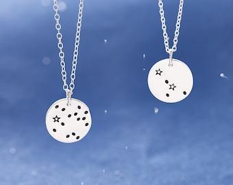 Constellation Necklace / Zodiac Necklace / Zodiac Sign Necklace / Zodiac Jewellery / Star Sign Necklace / Astrology Necklace / Silver