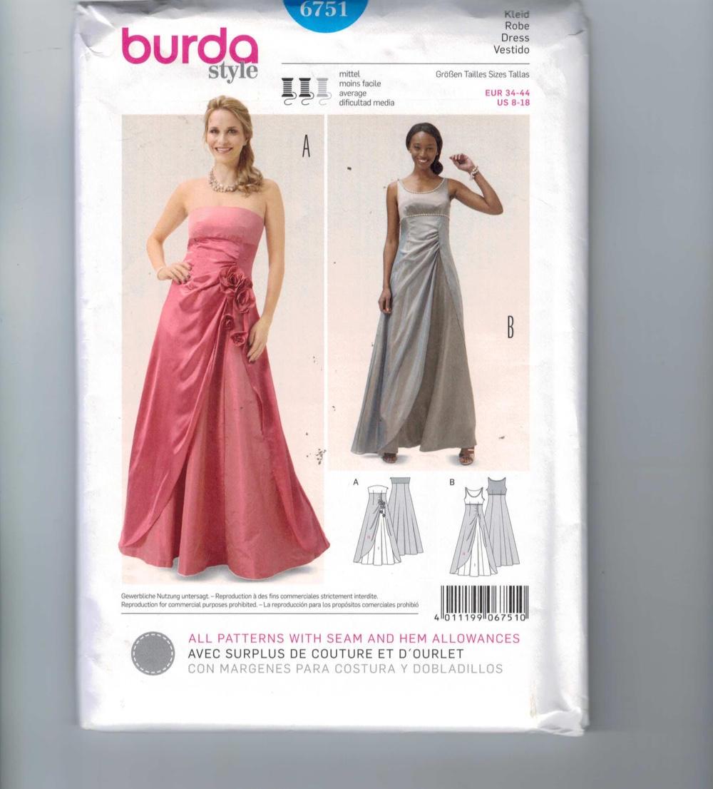 Berühmt Brautjungfer Kleid Muster Zu Nähen Fotos - Brautkleider ...