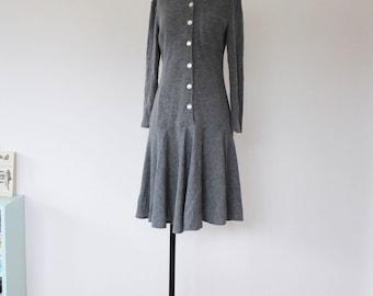 90s Wool Dress | Vintage 90s Dress |