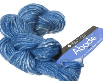 New Berroco Abode 100 Percent Wool Yarn/1 Skein/Blue Jay/8848