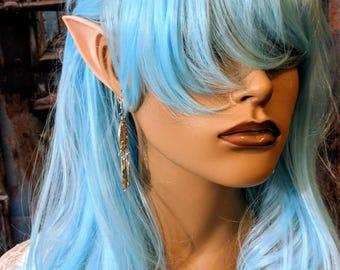 Elven ears, Silicone elf ears, fairy ears, fairy photo prop , fairy festival , fairy ear cuff costume accessories