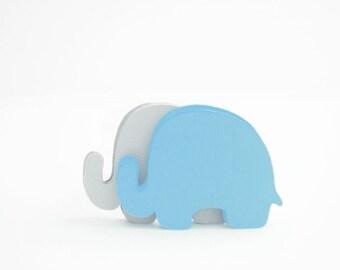 24 éléphant die cut-Set de 24 texture papier cartonné (3,5 x 2,5 pouces) découpe A411