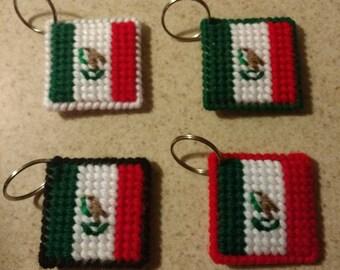 Mexico Flag Keychain