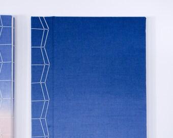 Blue Hand-Bound Journal