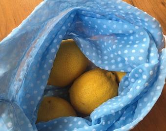 Reusable Bulk Food Bags - 2 Medium