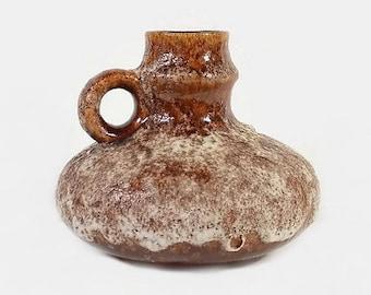 Vintage Vase Jug Jopeko Keramik Fat Lava West Germany