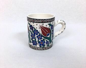 Handmade Iznik Ceramic Mug