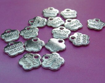 """Set of 15 charms / medals """"hand made"""""""