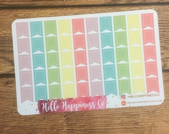 Page Flag Stickers-  Planner Stickers - Functional Stickers
