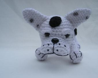 Crochet Pattern French Bulldog Instant Download