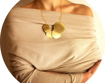 Geometric Bubbles Necklace