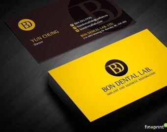 Silk Business Cards-16PT
