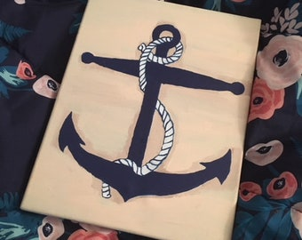 Grounded // Nautical Painting