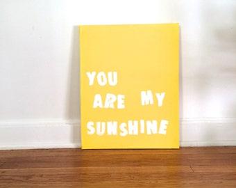 Tu es mon soleil Original peinture acrylique