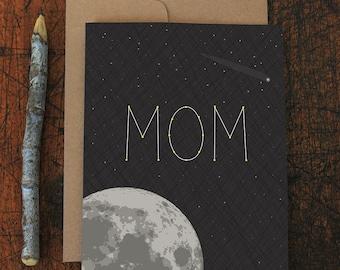 mom birthday card / you're stellar