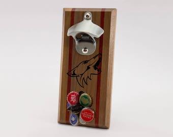 Arizona Coyotes Magnetic Bottle Opener