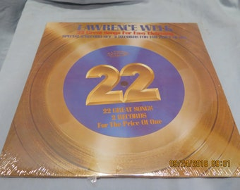 22 Great Songs for Easy Listening Lawrence Welk R-7016 Sealed 1982