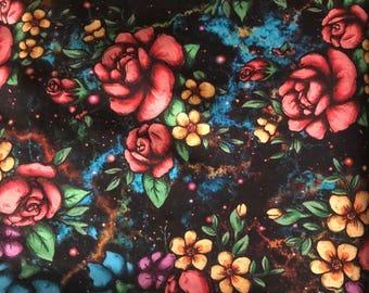Floral cloth diaper, roses cloth diaper, cloth diapers