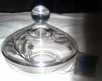 Silver City Glass Co. CANDY DISH