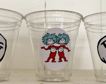 Dr Seuss disposable cups