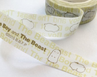 Cute Bunny Washi Tape | Bunny Rabbit Decorative Tape | Bunny Masking Tape | Cute Washi Tape 10m K12