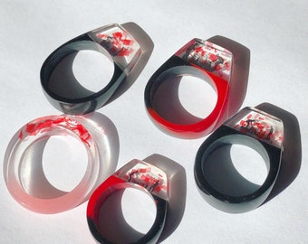 SEND us YOUR confetti for a custom made RING