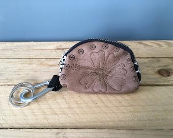 Keychain Wallet/Leather Keychain Wallet