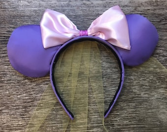 Ready to ship Rapunzel inspired ears    Disney ears    Mickey Minnie Mouse Ears