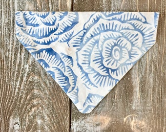Blue & White Batik ~ Neckerchief