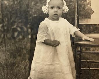Precious Baby Poignant Vintage Photo