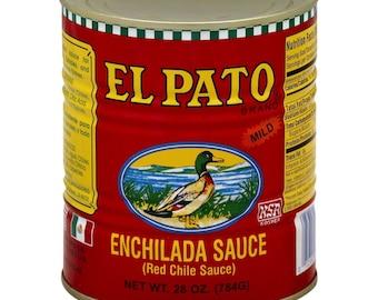 Cinco de Mayo fiesta El Pato cans(set of 4) Large 28oz