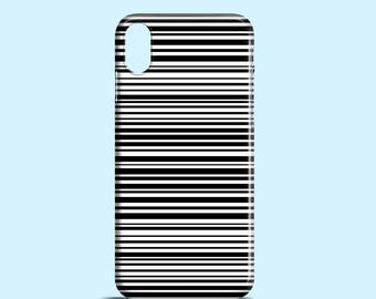 Zebra iPhone X case / Black and White stripes phone case / iPhone 8, iPhone 7 Plus / iPhone 6, 6S / iPhone 5/5S, SE / Samsung Galaxy S6, S5