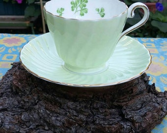 Cup and saucer Aynsley