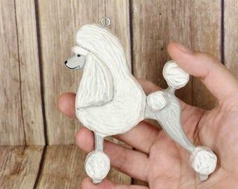 Custom Poodle Ornament, Poodle Home Decor, Poodle figurine, Poodle Door Hanger, Poodle Decoration, Poodle House warming gift, Poodle Lover