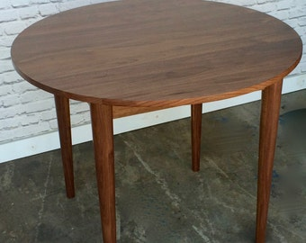 Round Dining Room Table - The Watson Table - Mid Century Modern Inspired