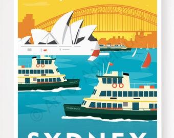 Sydney Ferries Sunset – Sydney Australia