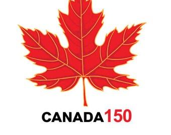 Canada 150 Temporary Tattoos