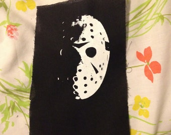 HORROR PATCH friday the 13th JASON pretty straightforward not very creative they can't all be winners can they