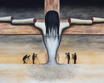 The modern crucifixion