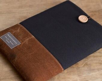 iPad mini case, iPad mini sleeve, 8 inch Custom Tablet case / Black
