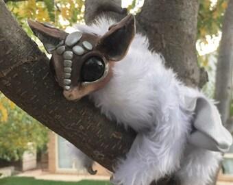 Fully posable Mythical Bat art doll animal