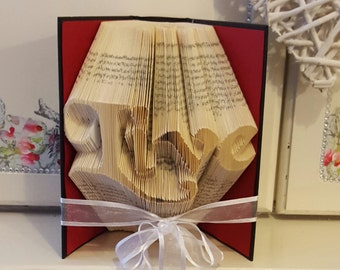 Live Book Folding Pattern. DIY. Make your own gift. Please read Listing. PDF Files Only.