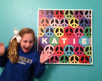 Peace Bulletin Boards to decorate any room in the house and gifts for all occasions!