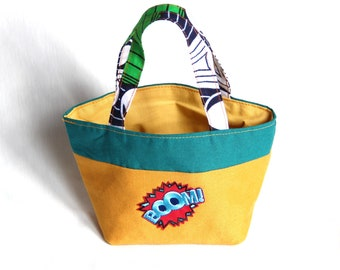 Customizable Boom child tote bag - personalized gift