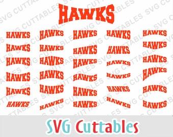 Hawks svg, Hawks layouts, svg, eps, dxf, Hawks cut file, svg cuttables, Silhouette file, Cricut cut file, digital download
