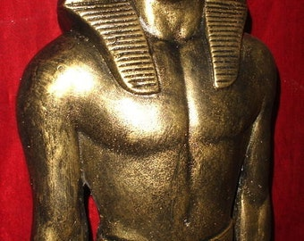 "27"" Ramses II Statue Large Anceint Standing Sculpture Reproduction"