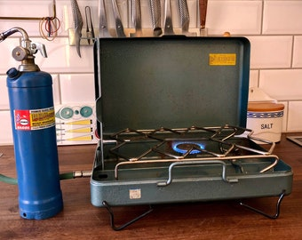 FREE WORLDWIDE SHIPPING - Camping stove, propane Primus 2061 from 1960s Sweden