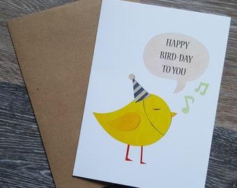 Happy Birthday Card, Funny Birthday Card, Pun Birthday Card, Pun Card, Cute Birthday Card, Birthday Card Funny, Birthday Card for Friend